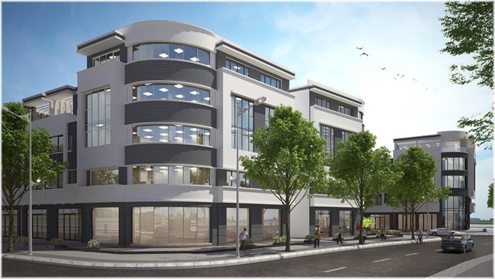 Shophouse là một trong những sản phẩm được giới đầu tư quan tâm đặc biệt tại Golden City an Giang