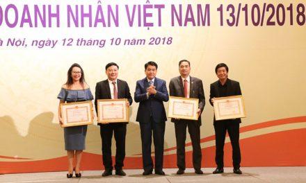 VIREX đồng hành tôn vinh doanh nghiệp và doanh nhân Thủ đô 2018