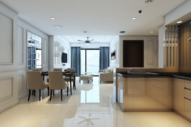 Luxury Apart ment được thiết kế sang trọng với nội thất đẳng cấp