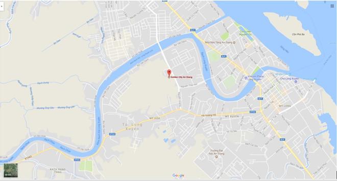 Dự án tọa lạc tại đường Nguyễn Hoàng, phường Mỹ Hòa, thành phố Long Xuyên, An Giang.