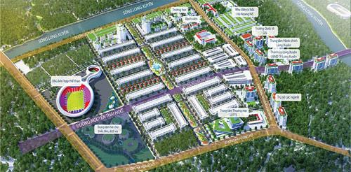 Dự án Golden City có vị trí đắc địa bậc nhất trong khu vực duyên hải ĐBSCL