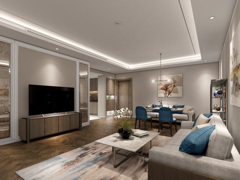 Các căn hộ của King Palace sẽ sử dụng dòng sơn thông minh nhất thế giới
