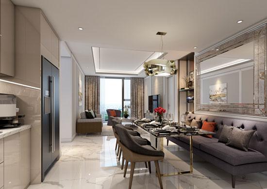 Căn hộ mẫu của dự án King Palace sẽ được khai trương trong tháng 1/2019.