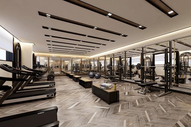 Phòng tập Gym hiện đại đạt chất lượng 5 sao được vận hành bởi Alpha Health Club