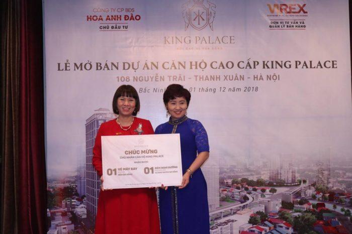 VIREX tham gia giới thiệu dự án King Palace Hà Nội đến nhà đầu tư Bắc Ninh