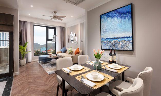 Căn hộ mẫu Luxury Quy Nhơn gây ấn tượng với khách hàng